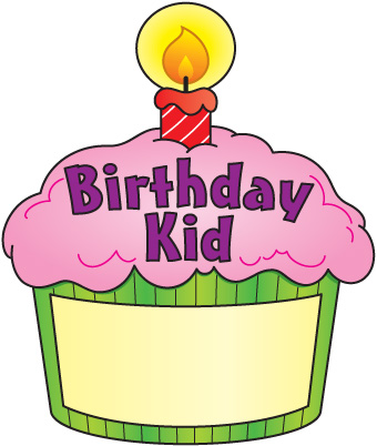 Birthday cupcake clip art foods