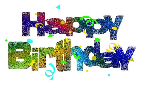 Free happy birthday clip art