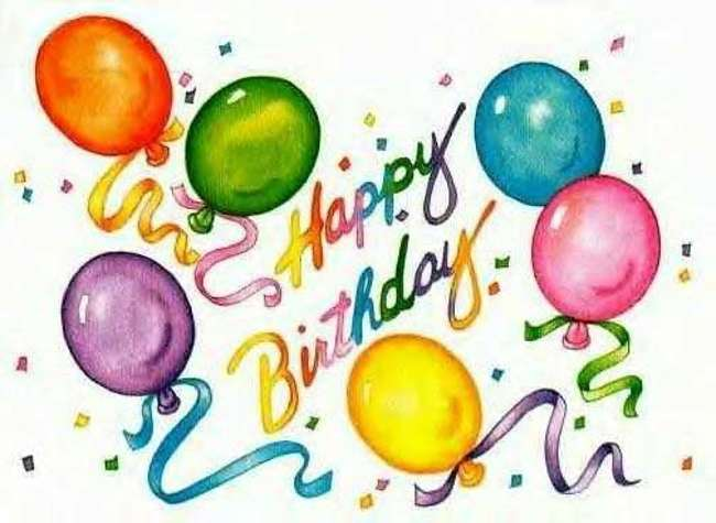 Free happy birthday pictures clipart