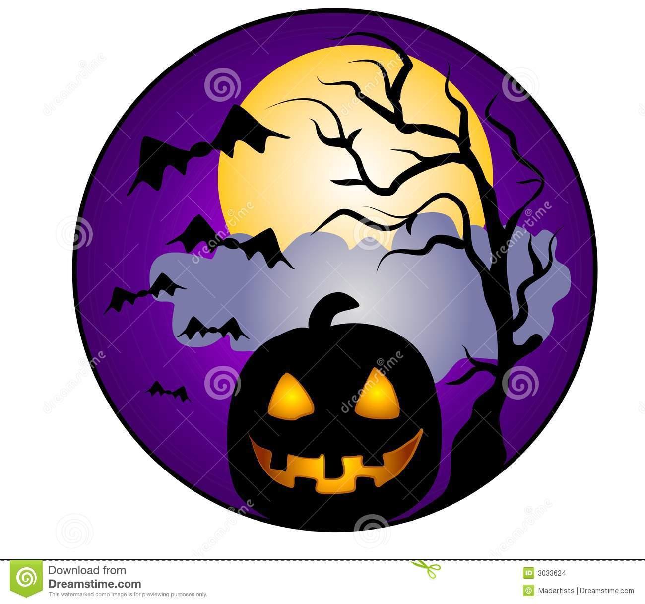 Halloween pumpkins clip art 2 stock photos image 3