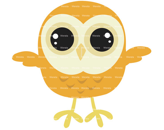 Popular items for baby owl clipart on