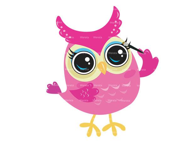 Popular items for digital owl clipart on 2