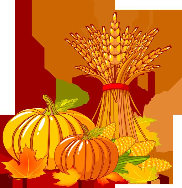 Pumpkin clip art foods 4