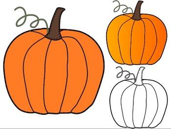 Pumpkin clip art foods 5