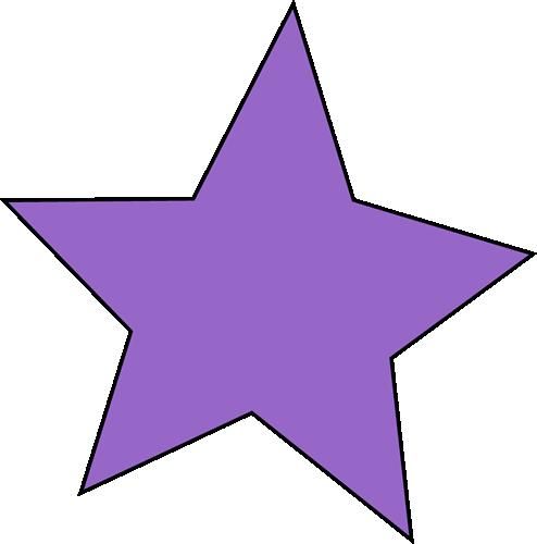 Purple star clip art purple star image