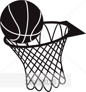 Basketball hoop clip art bar clipart