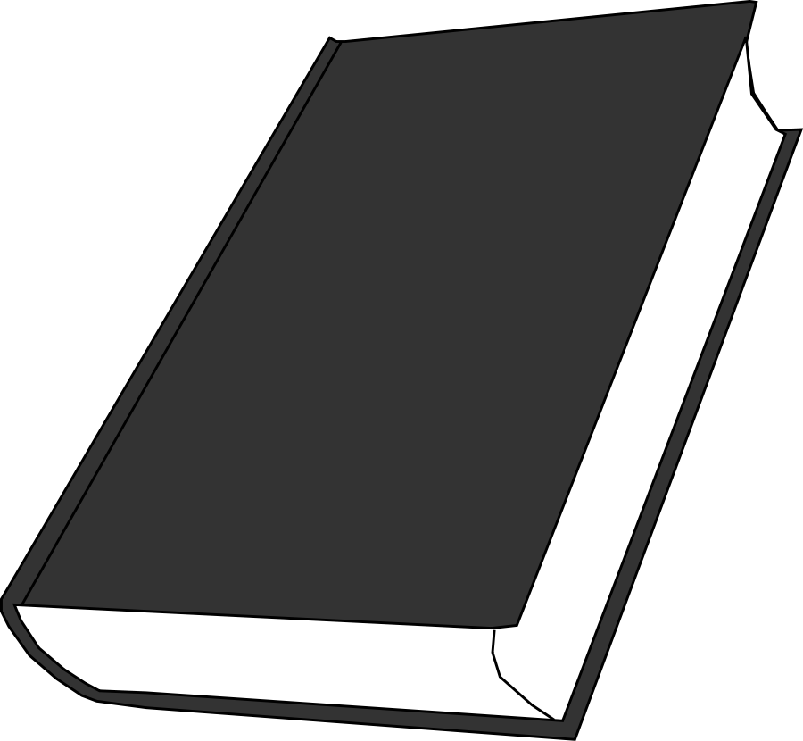 Book clip art vector clipart