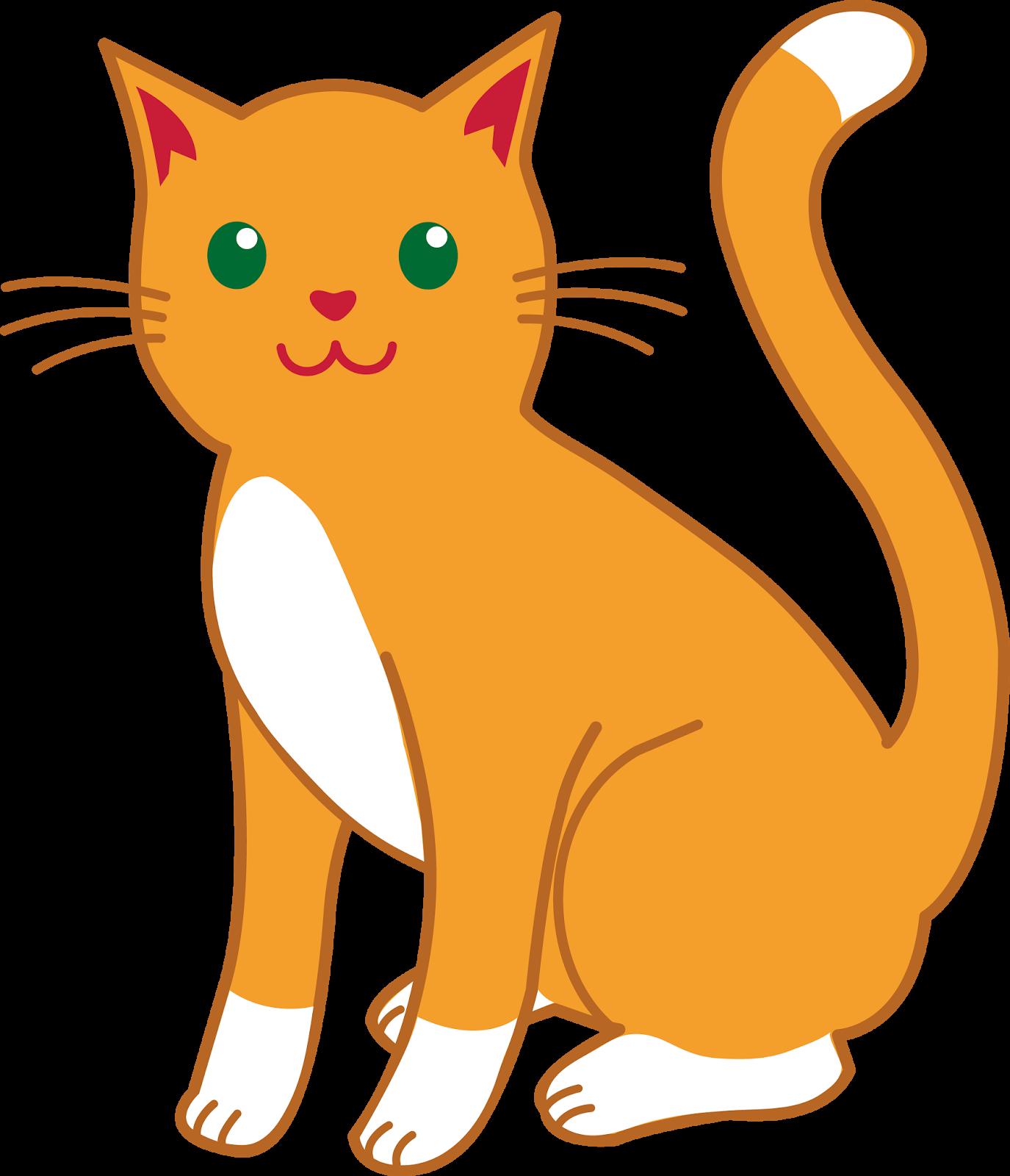 Cartoons cat clipart