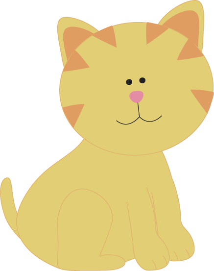 Free cat clipart image #589