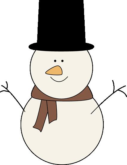 Classic snowman clip art classic snowman image