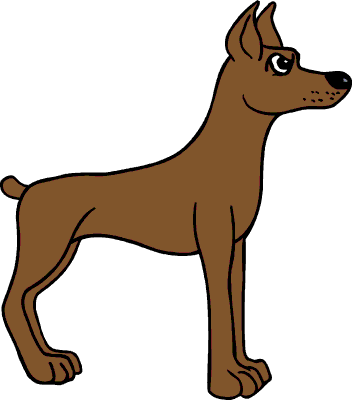 Clip art of a dog clipart image #264