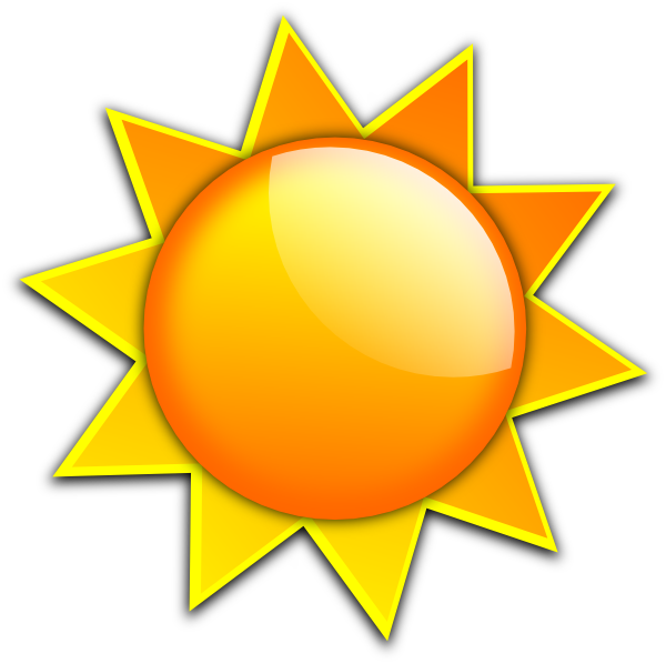 Clip art sunshine clipart