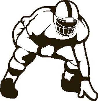 College football clip art clipart