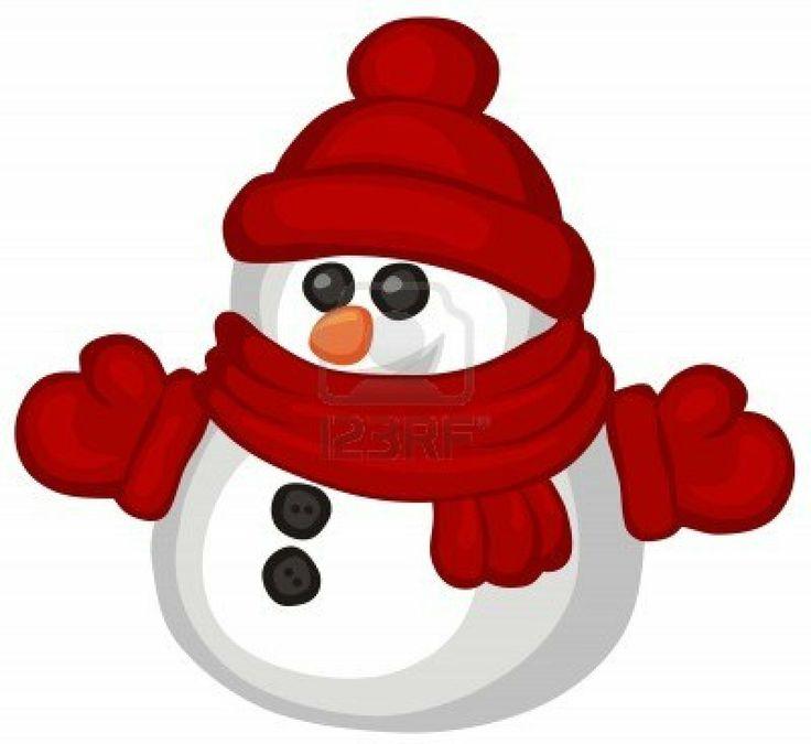 Cute snowflake clipart cute snowman clipart free funny
