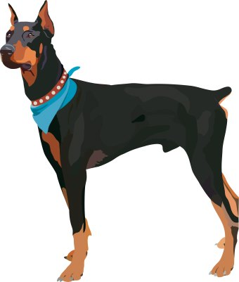 Dog clip art 2