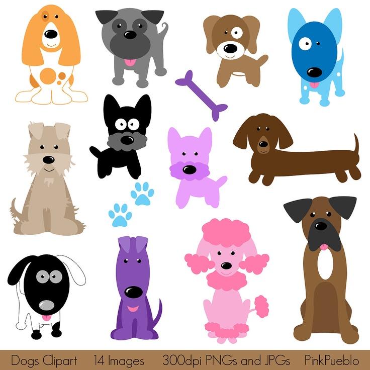 Dog clipart clip art puppy clipart clip art vectors commercial