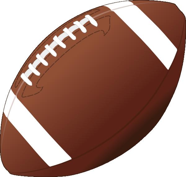 Football clip art at vector clip art online royalty
