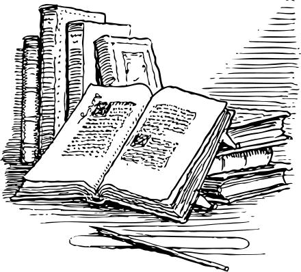 Free open book clipart public domain open book clip art images 3