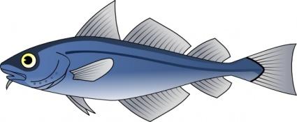 Glossy fish 2 free vector