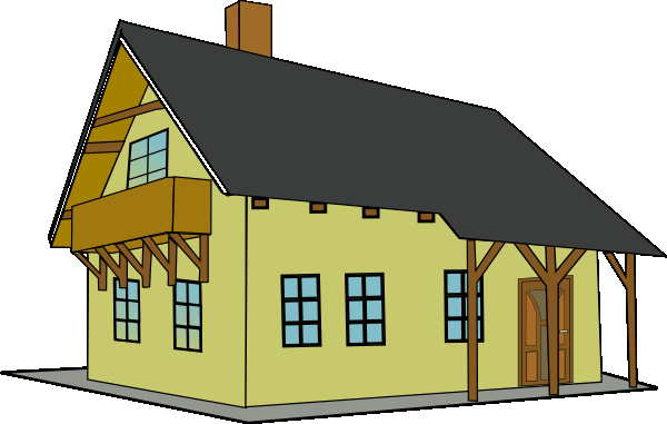 House clipart 2 image #621