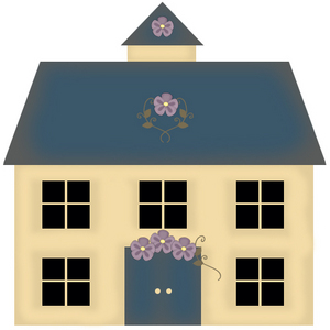 House Clip Art - Images, Illustrations, Photos
