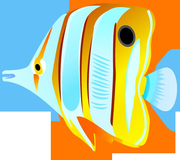 Ocean fish clip art clipart