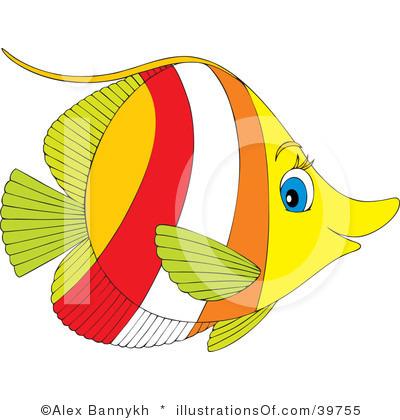 Saltwater fish clip art 1