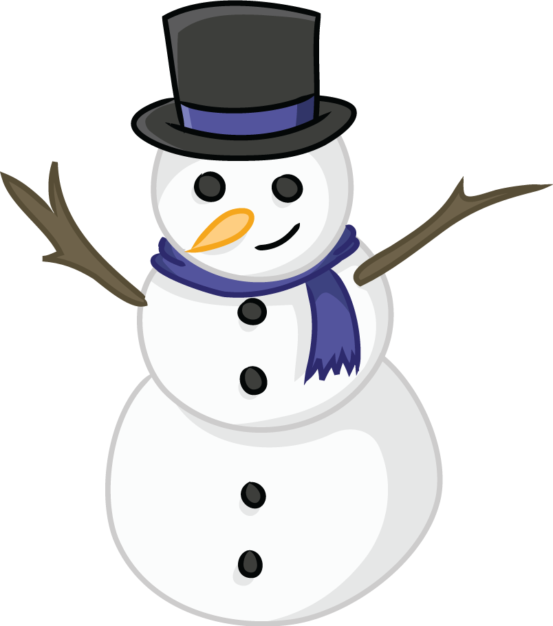 Snowman clip art  2