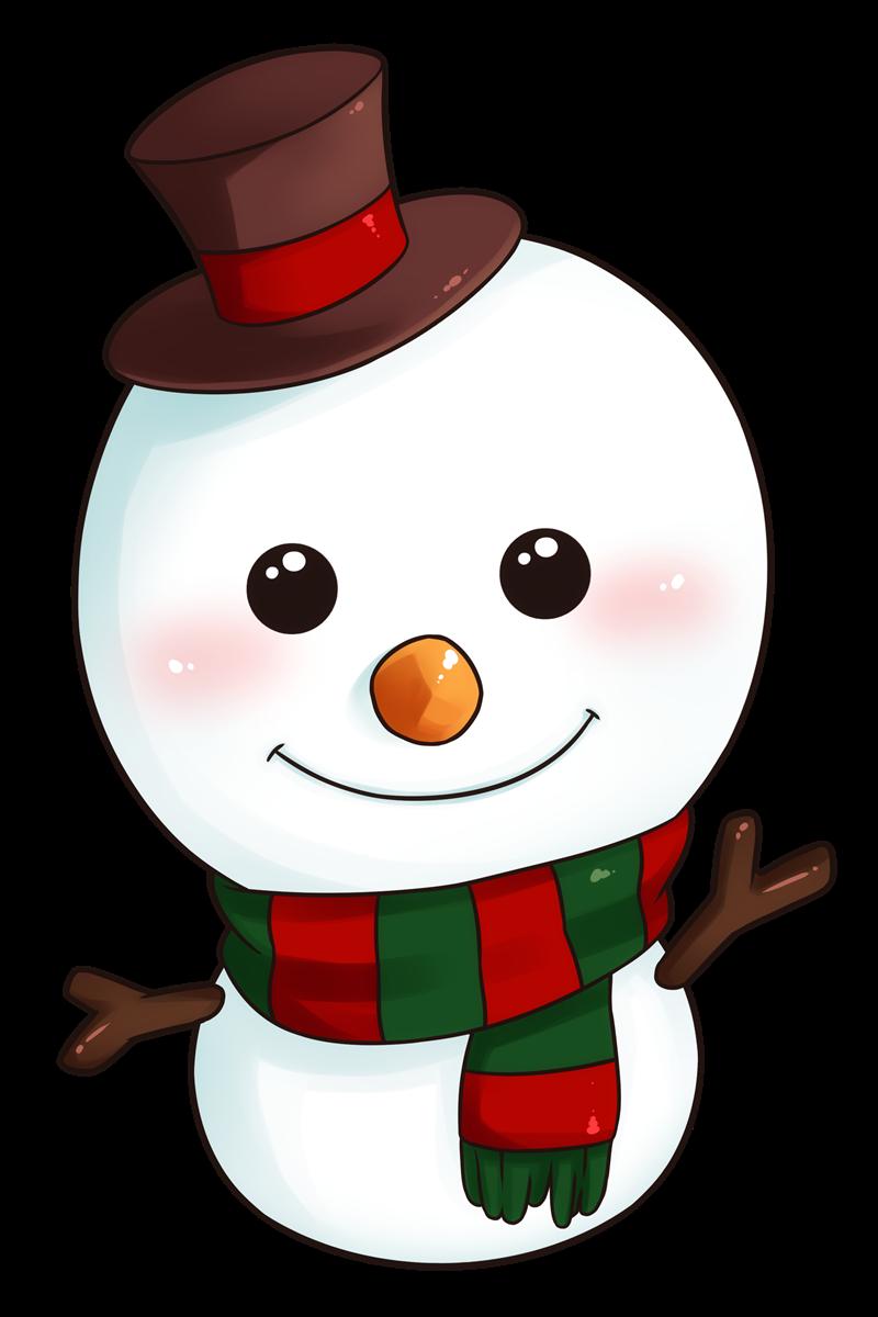 Snowman clip art  3