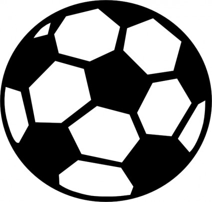 Soccer ball clip art free vector in open office drawing svg svg 2