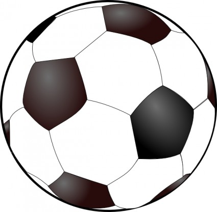 Soccer ball clip art free vector in open office drawing svg svg
