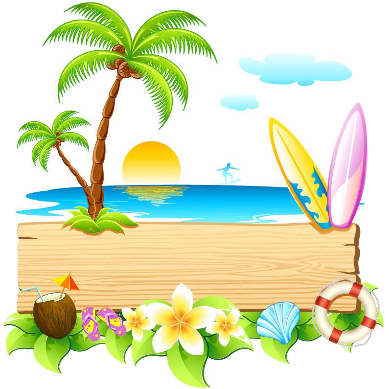 Summer clip art 4