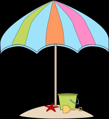 Summer clip art beach clipart