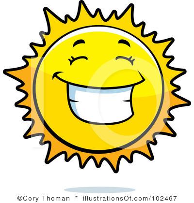 Sun clip art 5