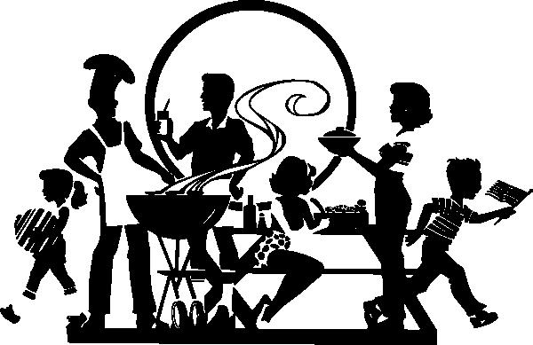 Black family clip art at vector clip art online