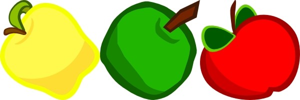 Cartoon apple clip art free vector for free download about