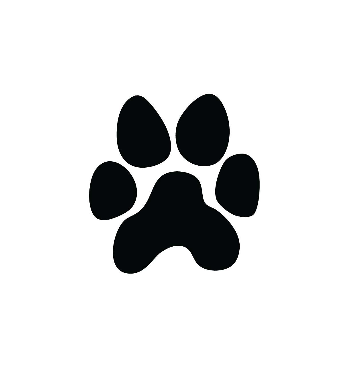 Cat paw print clip art