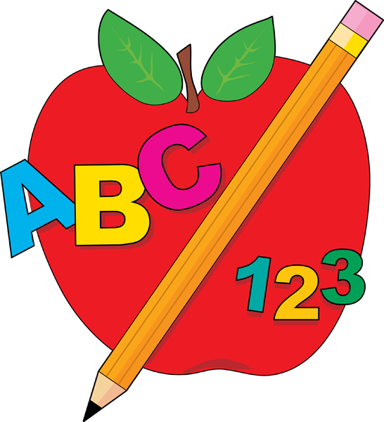Discover back to school apple clipart images