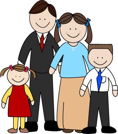 Family clip art holidays 2