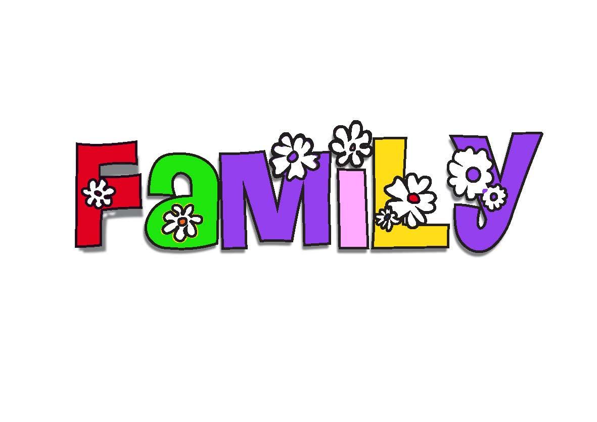 Family clip art holidays 5