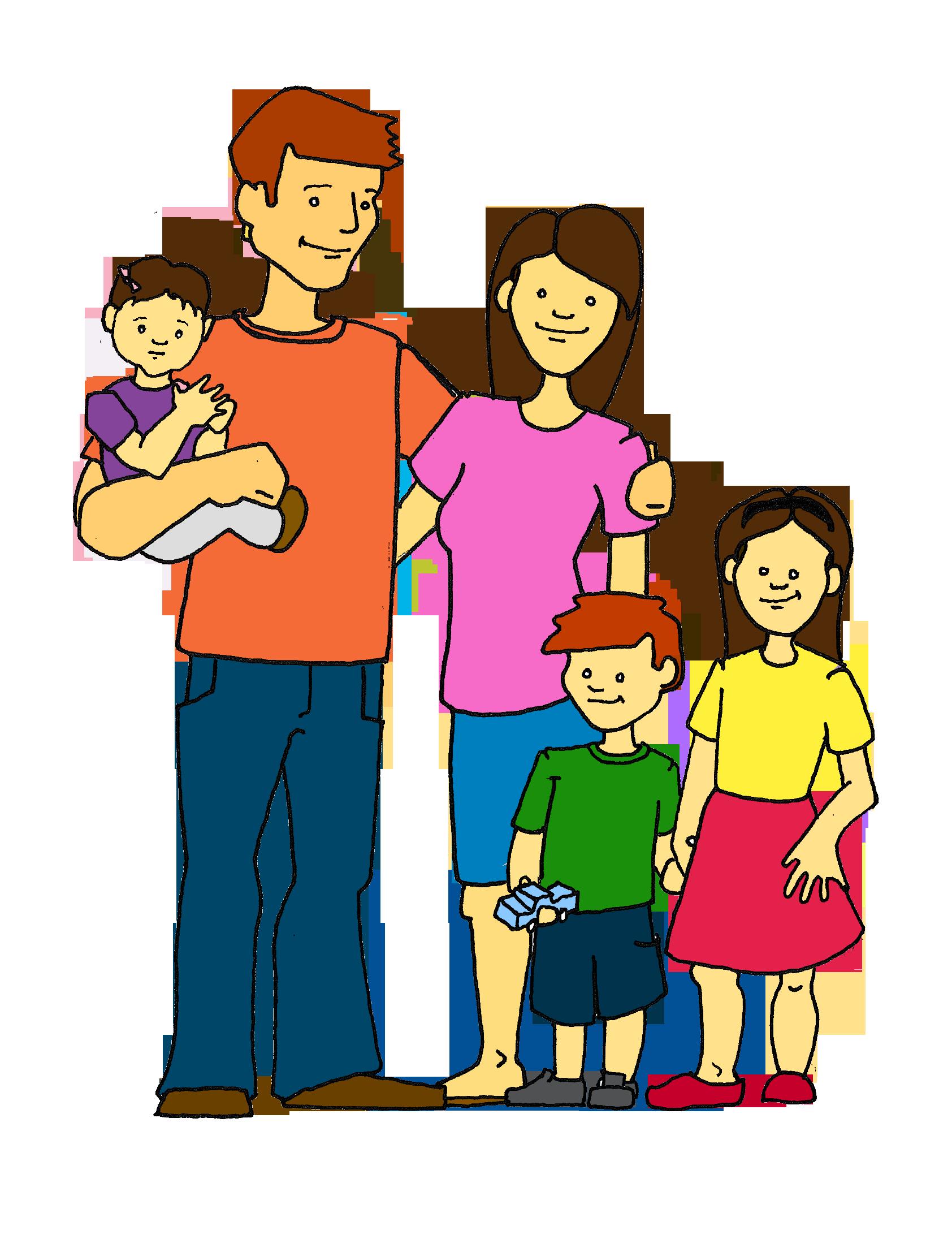 Family clip art holidays