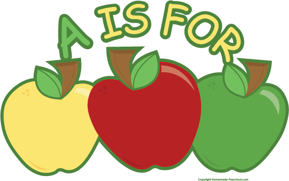 free smiling apple clipart - photo #15