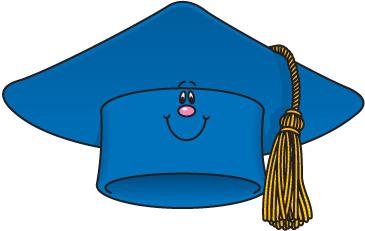 Free clip art graduation cap 4 clipart