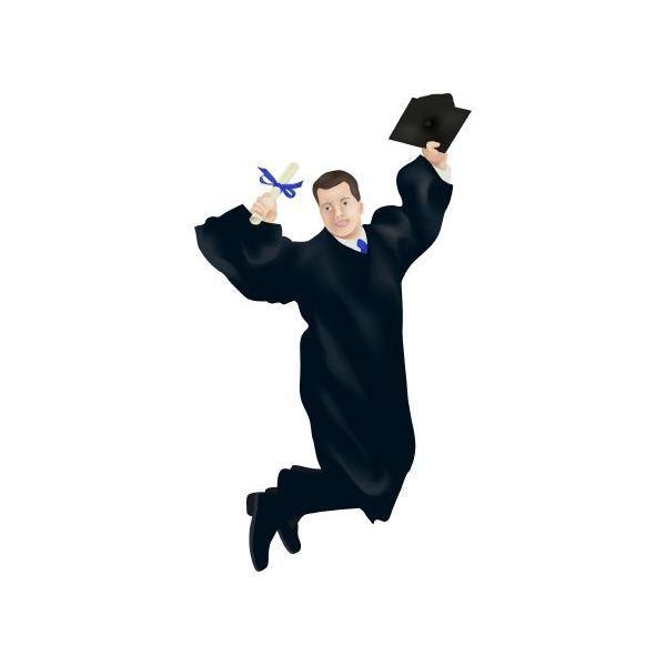 Graduation clip art borders