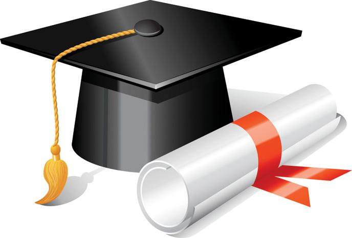 Graduation clip art school