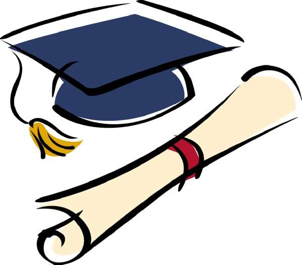 Graduation grad cap clipart chienmingwang com