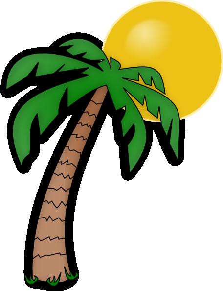 Palm tree clip art clip art at vector clip art online