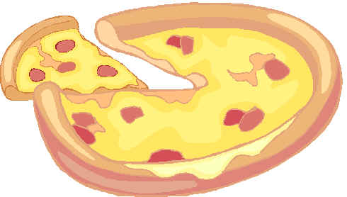 Pizza clip art 4