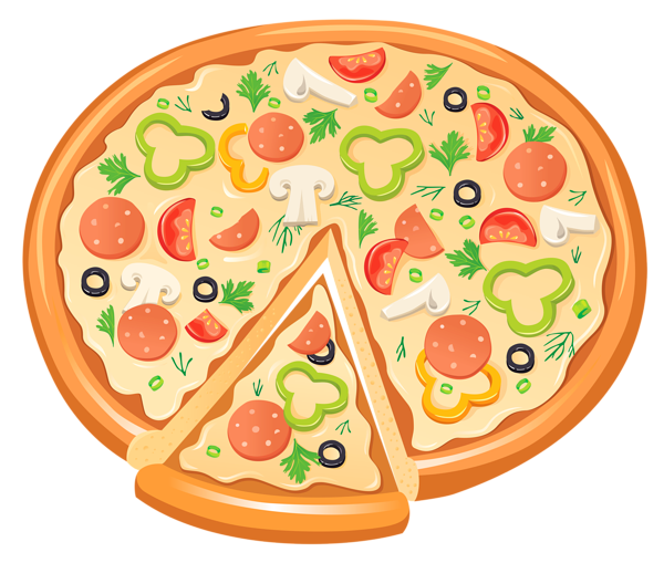 Pizza clipart 3