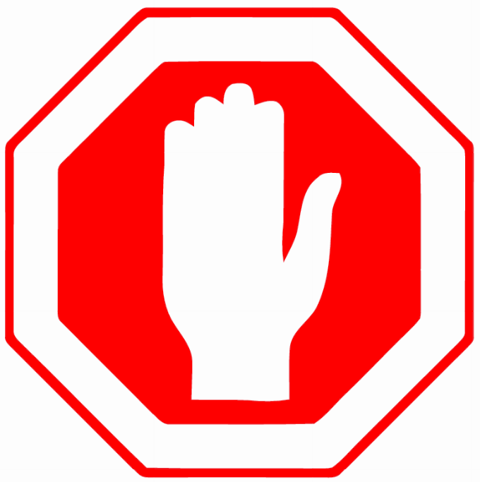 Stop sign template printable clipart image #917